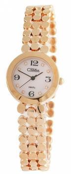 Российские наручные  женские часы Slava 6159202-2035. Коллекция Инстинкт
