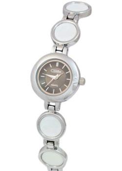 Российские наручные  женские часы Slava 6161157-2035. Коллекция Инстинкт