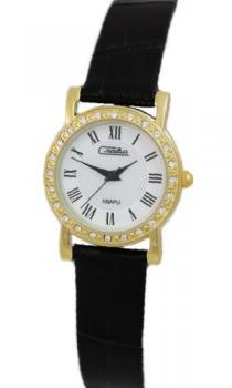 Российские наручные  женские часы Slava 6173163-2035. Коллекция Инстинкт