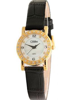 Российские наручные  женские часы Slava 6173198-2025. Коллекция Инстинкт
