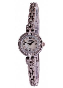 Российские наручные  женские часы Slava 6181199-2035. Коллекция Инстинкт