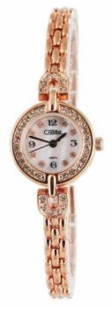 Российские наручные  женские часы Slava 6189201-2035. Коллекция Инстинкт