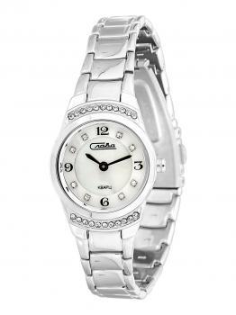 Российские наручные  женские часы Slava 6191172-2025. Коллекция Инстинкт