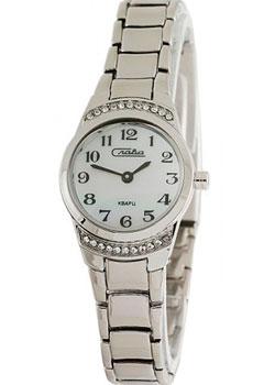 Российские наручные  женские часы Slava 6191376-2025. Коллекция Инстинкт