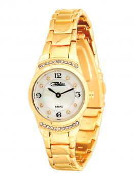 Российские наручные  женские часы Slava 6193198-2025. Коллекция Инстинкт
