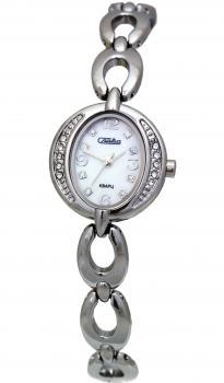 Российские наручные  женские часы Slava 6201176-2035. Коллекция Инстинкт