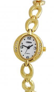 Российские наручные  женские часы Slava 6203179-2035. Коллекция Инстинкт