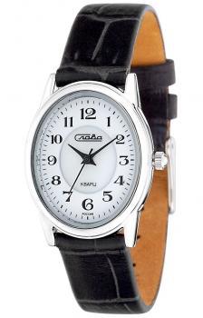 Российские наручные  женские часы Slava 6211474-2035. Коллекция Инстинкт