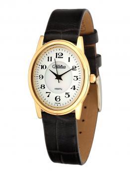 Российские наручные  женские часы Slava 6213474-2035. Коллекция Инстинкт