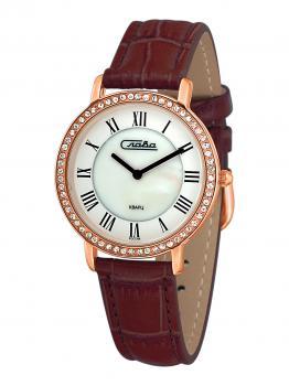 Российские наручные  женские часы Slava 6239485-2025. Коллекция Инстинкт
