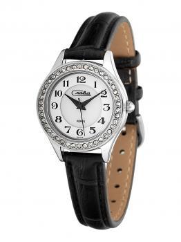 Российские наручные  женские часы Slava 6241491-2035. Коллекция Инстинкт