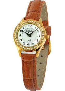 Российские наручные  женские часы Slava 6243491-2035. Коллекция Инстинкт