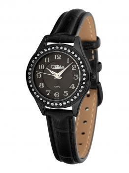 Российские наручные  женские часы Slava 6244495-2035. Коллекция Инстинкт