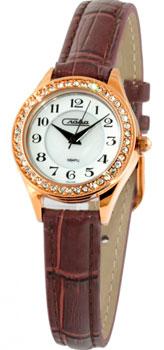 Российские наручные  женские часы Slava 6249491-2035. Коллекция Инстинкт