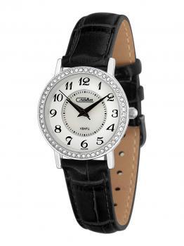 Российские наручные  женские часы Slava 6261496-2035. Коллекция Инстинкт