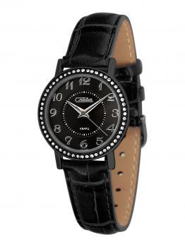 Российские наручные  женские часы Slava 6264500-2035. Коллекция Инстинкт