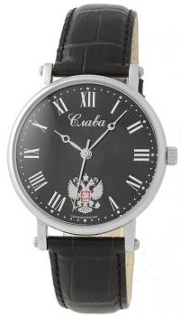 Российские наручные мужские часы Slava 8091044-300-2409. Коллекция Премьер фото