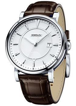 fashion наручные  мужские часы Sokolov 101.30.00.000.06.02.3. Коллекция Pulse.