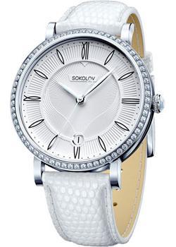 fashion наручные  женские часы Sokolov 102.30.00.001.01.02.2. Коллекция Enigma