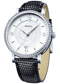 fashion наручные  женские часы Sokolov 102.30.00.001.03.01.2. Коллекция Enigma