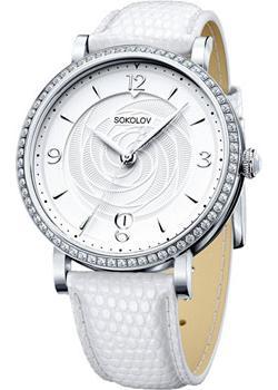 fashion наручные  женские часы Sokolov 102.30.00.001.03.02.2. Коллекция Enigma