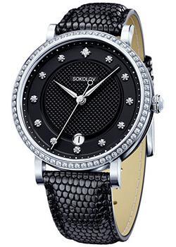 fashion наручные  женские часы Sokolov 102.30.00.001.05.01.2. Коллекция Enigma
