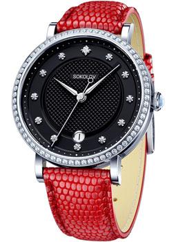 fashion наручные  женские часы Sokolov 102.30.00.001.05.03.2. Коллекция Enigma