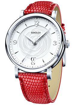 fashion наручные  женские часы Sokolov 103.30.00.000.03.03.2. Коллекция Enigma