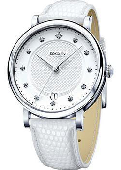 fashion наручные  женские часы Sokolov 103.30.00.000.04.02.2. Коллекция Enigma