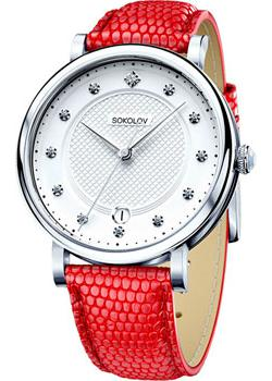 Fashion наручные женские часы Sokolov 103.30.00.000.04.03.2. Коллекция Enigma фото
