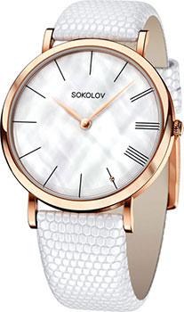 fashion наручные  женские часы Sokolov 104.01.00.000.02.02.2. Коллекция Harmony