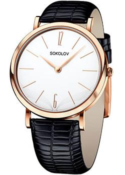 fashion наручные  женские часы Sokolov 104.01.00.000.05.01.2. Коллекция Harmony