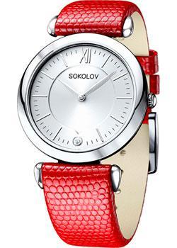 fashion наручные  женские часы Sokolov 105.30.00.000.01.03.2. Коллекция Perfection