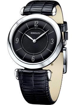 fashion наручные  женские часы Sokolov 105.30.00.000.04.01.2. Коллекция Perfection.