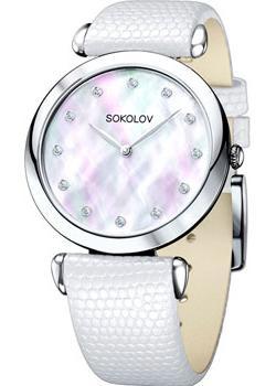 fashion наручные  женские часы Sokolov 105.30.00.000.05.02.2. Коллекция Perfection