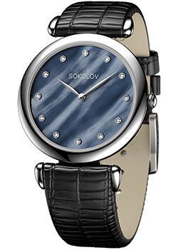fashion наручные  женские часы Sokolov 105.30.00.000.06.01.2. Коллекция Perfection.