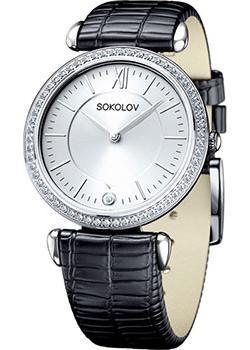 fashion наручные  женские часы Sokolov 106.30.00.001.01.01.2. Коллекция Perfection