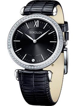 fashion наручные  женские часы Sokolov 106.30.00.001.02.01.2. Коллекция Perfection
