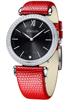 fashion наручные  женские часы Sokolov 106.30.00.001.02.03.2. Коллекция Perfection