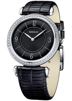 fashion наручные  женские часы Sokolov 106.30.00.001.04.01.2. Коллекция Perfection