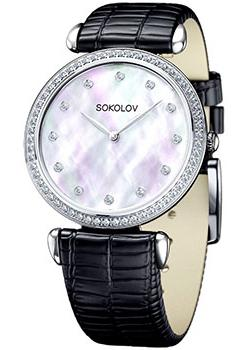 fashion наручные  женские часы Sokolov 106.30.00.001.05.01.2. Коллекция Perfection