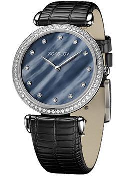 fashion наручные  женские часы Sokolov 106.30.00.001.06.01.2. Коллекция Perfection