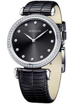fashion наручные  женские часы Sokolov 106.30.00.001.07.01.2. Коллекция Perfection.