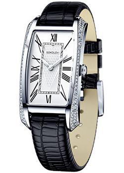 fashion наручные  женские часы Sokolov 119.30.00.001.01.01.2. Коллекция Favorite game
