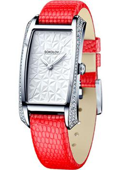 Fashion наручные женские часы Sokolov 119.30.00.001.03.03.2. Коллекция Favorite game фото