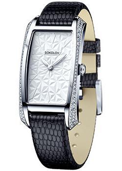 fashion наручные  женские часы Sokolov 119.30.00.001.03.04.2. Коллекция Favorite game.