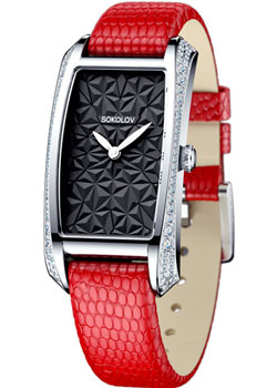 fashion наручные  женские часы Sokolov 119.30.00.001.04.03.2. Коллекция Favorite game