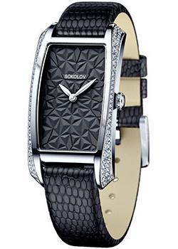fashion наручные  женские часы Sokolov 119.30.00.001.04.04.2. Коллекция Favorite game