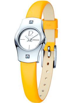 fashion наручные  женские часы Sokolov 123.30.00.001.04.04.2. Коллекция Why Not