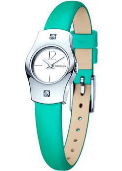fashion наручные  женские часы Sokolov 123.30.00.001.04.07.2. Коллекция Why Not